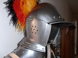 půlzboj Honza helma